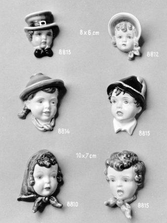 8811 Goldscheider Katalog Wandmasken