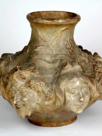 Masques Antonin Larroux Vase