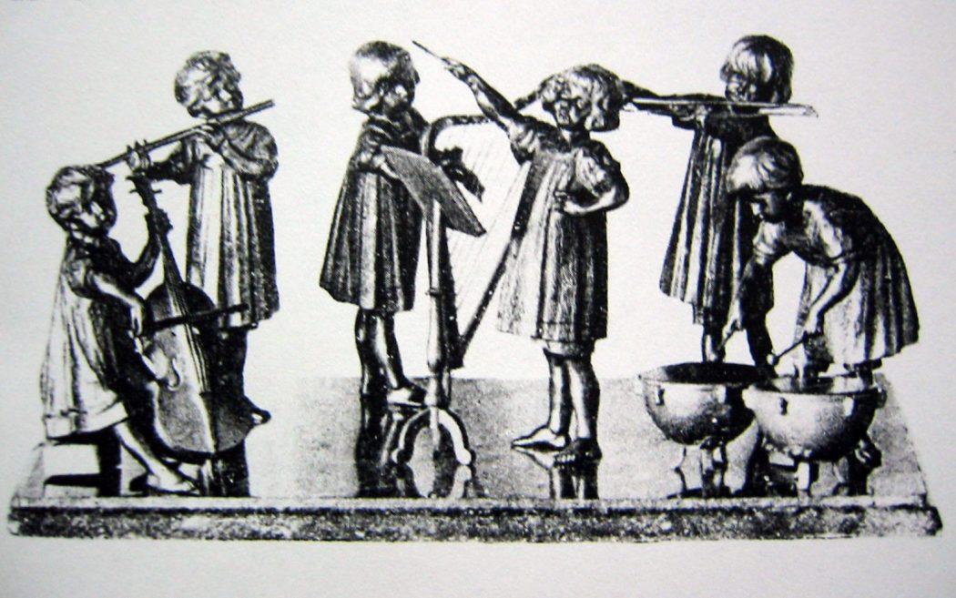 Camillo Goldscheider Kinder Symphonie Gruppe