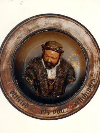 Friedrich Goldscheider Berlichingen Wandteller