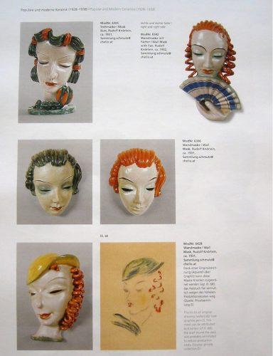 Goldscheider Buch Wandmasken