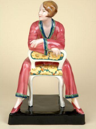 Goldscheider Josef Lorenzl Pyjama Girl From 1920s